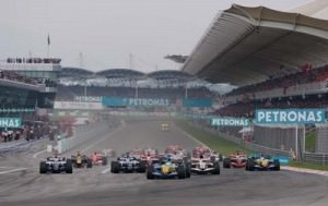 Malaysian Grand Prix Start