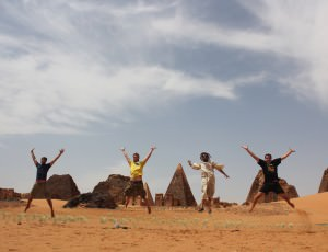 Enjoying my time in Sudan
