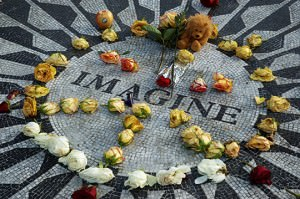 John Lennon Tribute in Central Park