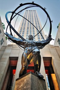 Rockefeller Center & Statue of Atlas