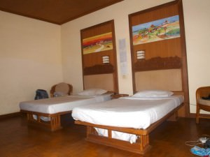 The rooms in the hotel