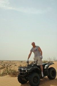 Desert Quad biking in the UAE