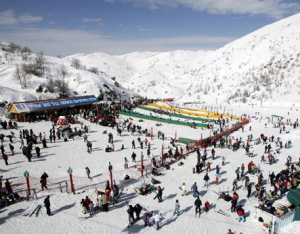 Skiing in Israel