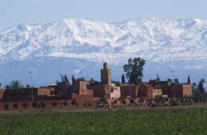 Skiing in Morocco