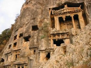 Fethiye cave tombs