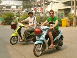 Scooters in Langkawi