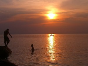 Sunset at Perhentian islands