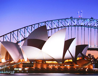 Sydney Oper House and Harbour Bridge