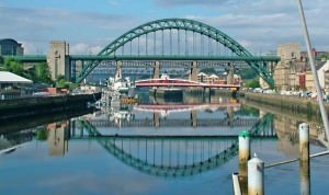 Tyne river and bridge