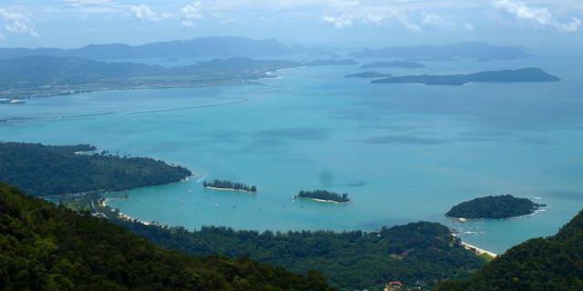 Langkawi from the cable car