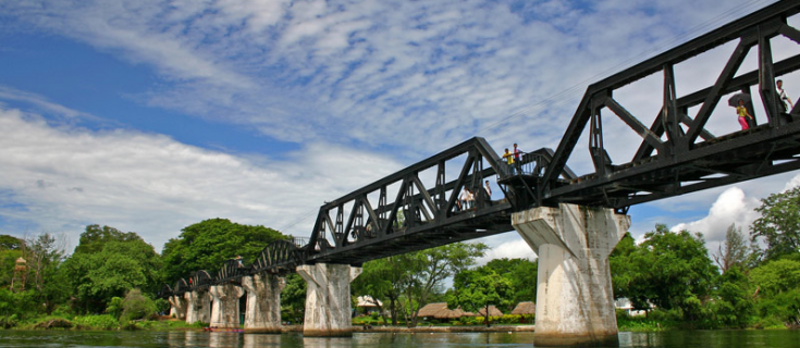 Bridge on the River Kwai Thailand