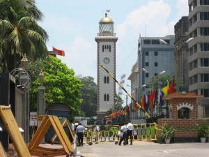 The clock tower colombo