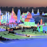 Visiting The Ice Festival in Harbin, China