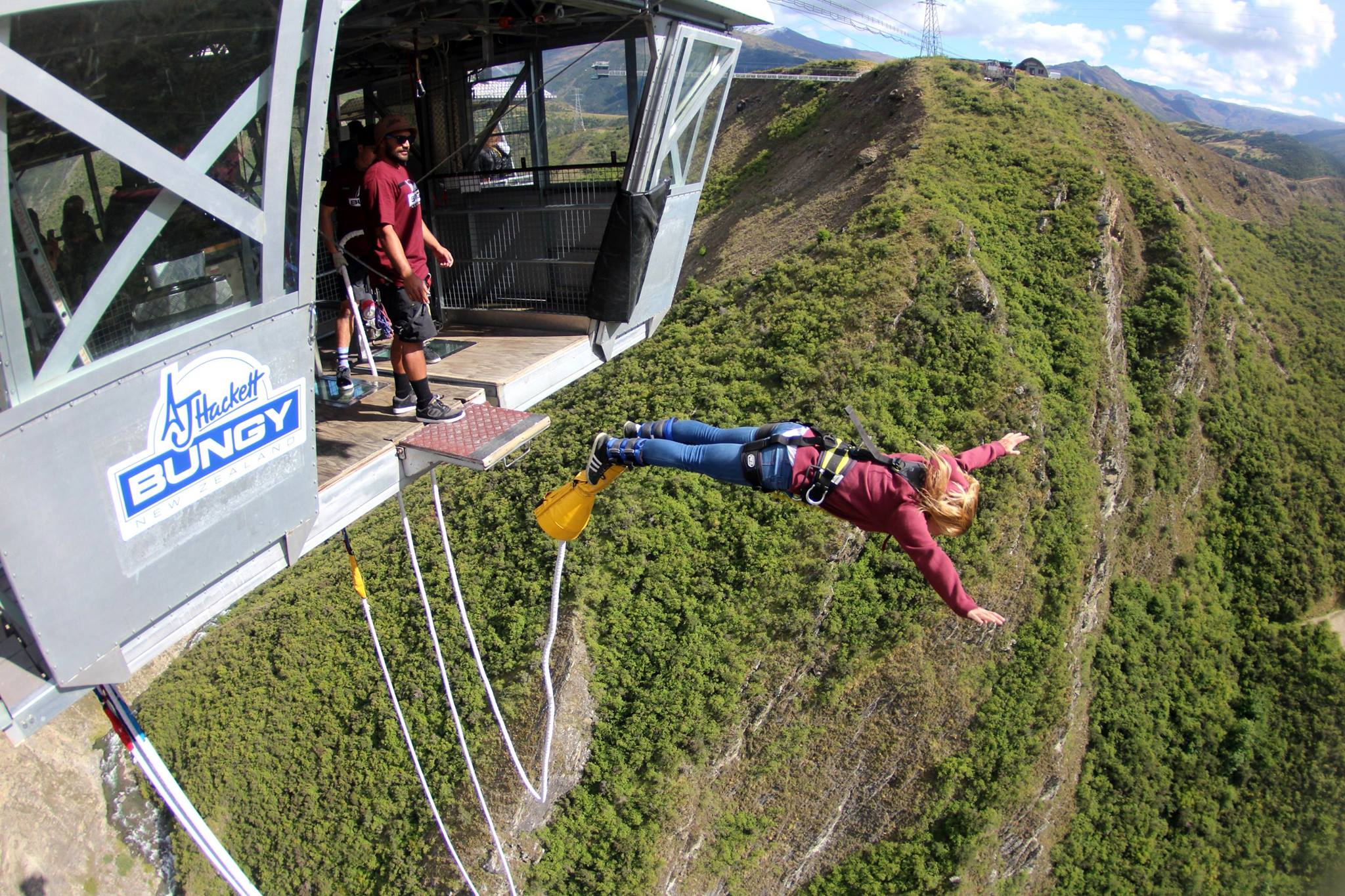 best bungee jump in the world
