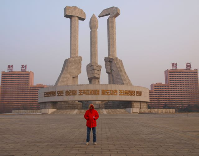 workers party monument north korea