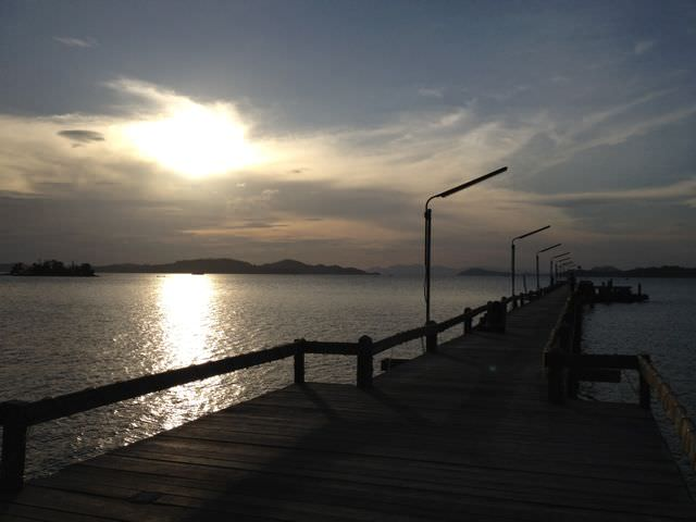 Best Sunset in Ranong