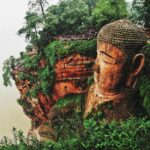 Visiting The Giant Buddha in Leshan, China; The Biggest Buddha in the World