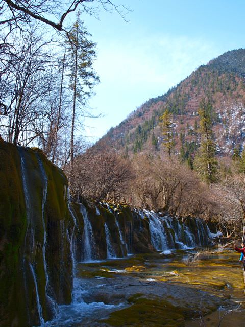 jiuzhaigou waterfalls