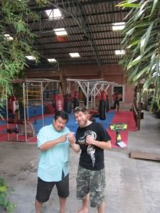 Training muaythai in bangkok