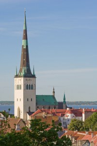 St Olafs church Tallinn