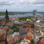 Backpacking in Riga,   Latvia