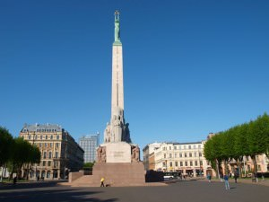 freedom monument riga