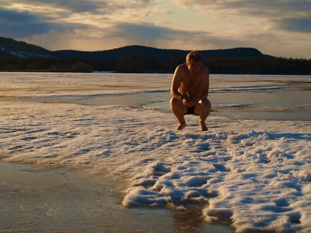 Naked Ice Fishing and The Generosity of Finns