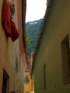 backpacking in brasov