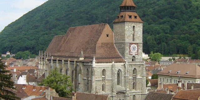 black church brasov romania