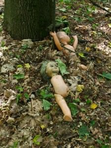 dolls in chernoybl