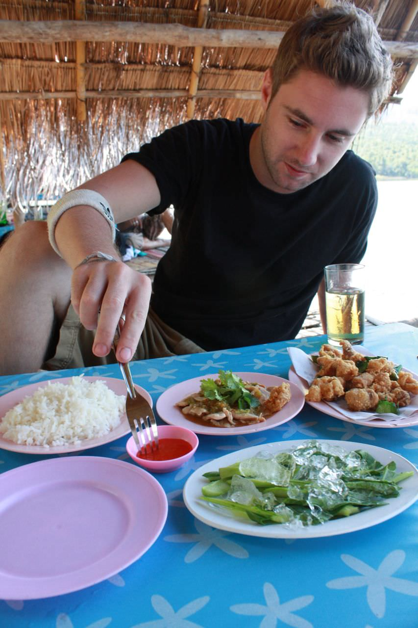 thai food is delicious