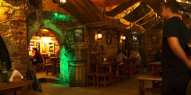underground bar in Lviv