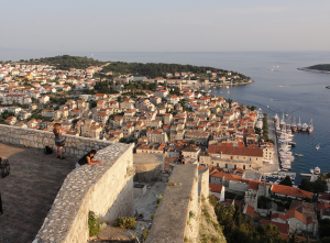 Hvar Fortress view