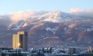 Vitosha mountain sofia bulgaria