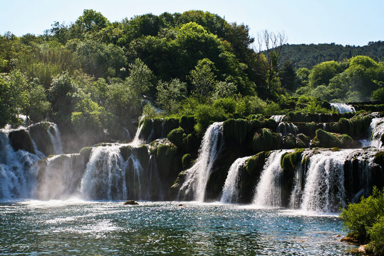 krka national park croatia