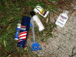 lost toiletries