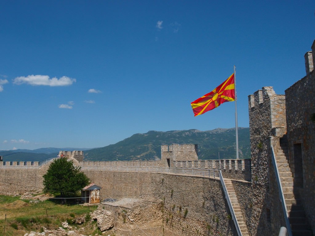 ohrid fortress macedonia