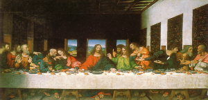 the original last supper painting