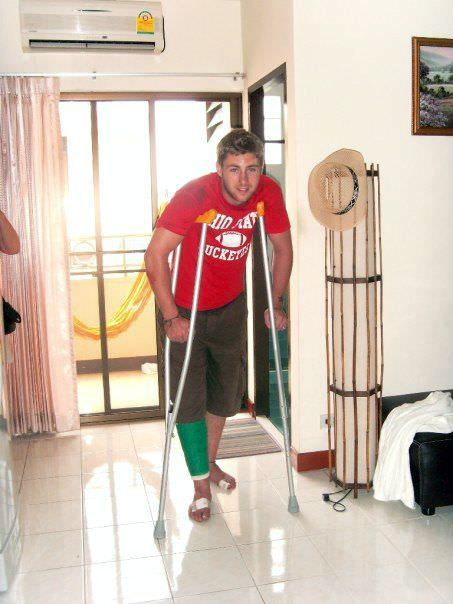 The Time I Broke My Leg In Thailand One Step 4ward