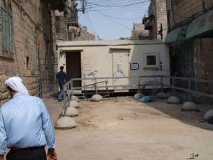 check points in Hebron