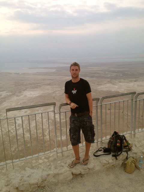 sunrise at Masada Israel