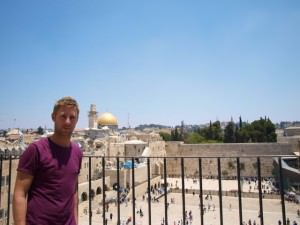 johnny ward traveling in israel