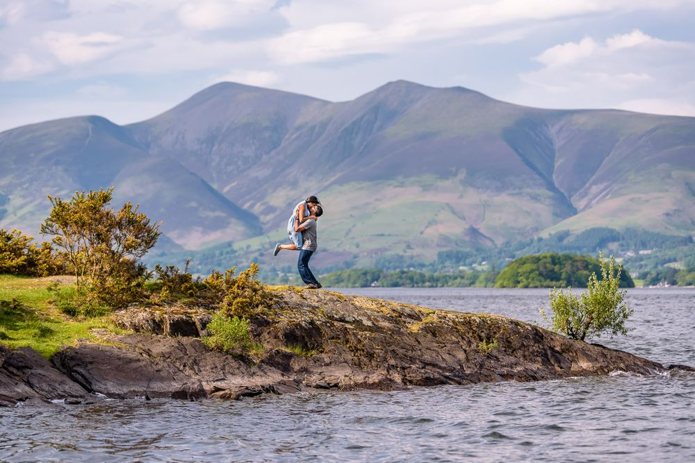 Propose in the Lake District
