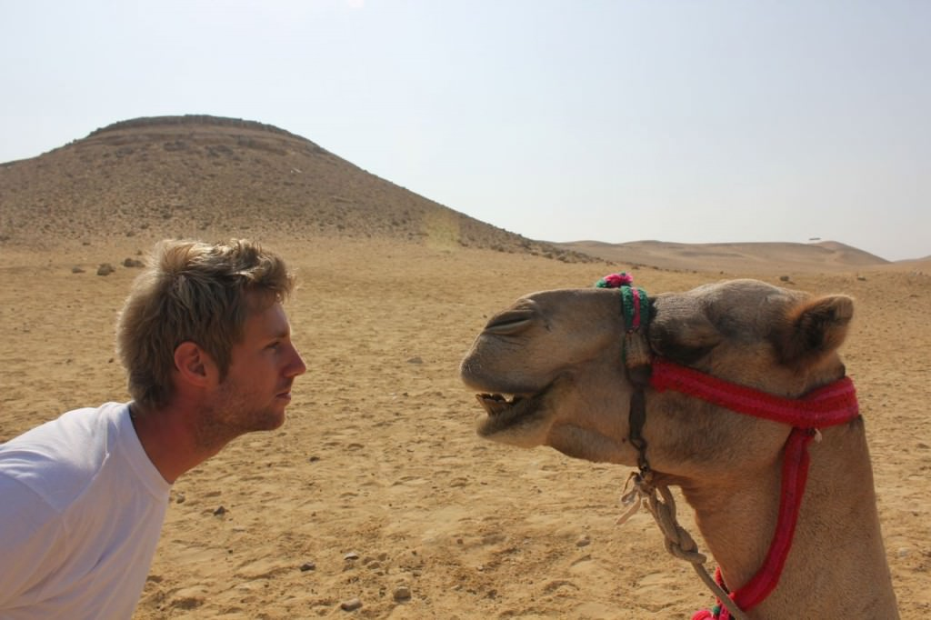 Johnny Ward in egypt