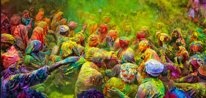 4 Of The Best Places To Celebrate The Holi Festival In India | One ...