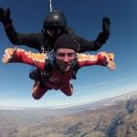 Skydiving in Wanaka,   New Zealand