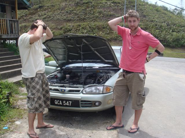 How not to rent a car!