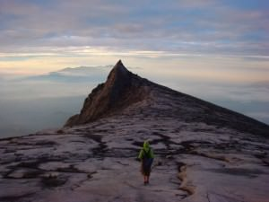 Johnny on Mt Kinabalu
