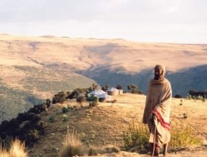 ethiopia_simien_man_sunset