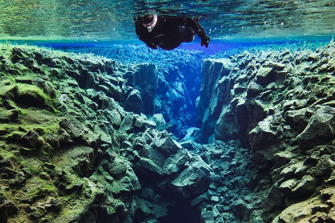 Snorkelling in Iceland